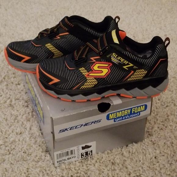 Skechers Memory Foam Shoe Boys